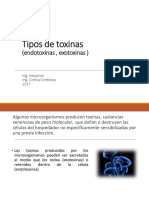 2.1Toxinas y Endotoxinas