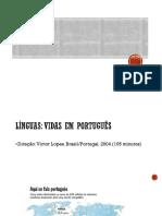 Línguas-Vidas Em Português