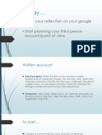 account writing powerpoint
