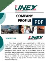 LINEX Company Profile - 2018