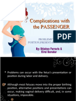 Complications With the Passenger 2