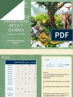 Ejemplos de Diversidad Beta y Gamma