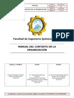 Manual Del Contexto de La Organización
