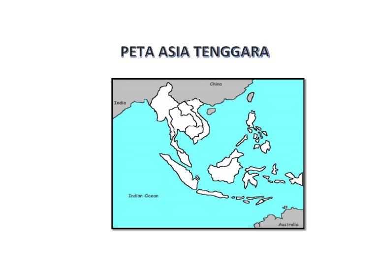 Peta Asia Tenggara Kosong Docx