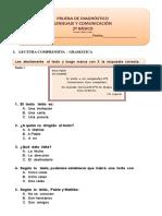 Diagnóstico Lenguaje