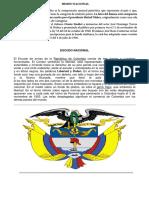 Simbolos Patrios de Colombia
