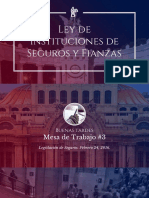 Ley de instituciones de seguros y fianzas