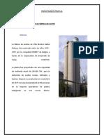 Visita Planta procesadora de aceite ITIKA villa montes