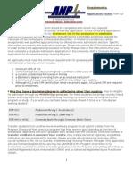 FIU ANP Information 2010