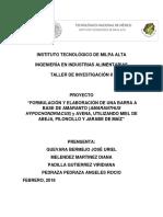 Palanqueta Final