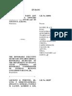 Origin of Revenue Appropriations and Tariff Bills