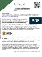 Al-Shammari, Hussein - 2008 - Strategic Planning in Emergent Market Organizations an Empirical Investigation