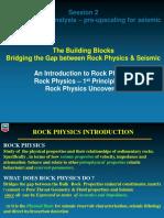 Rock Physics & Seismic