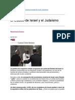 El Estado de Israel y el Judaísmo.docx