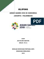 Kliping Asean Games