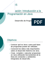 3 Intro Ducci on Java