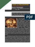Heidegger - O Que é Isto - A Filosofia - Espanhol