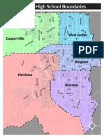 High school boundary options