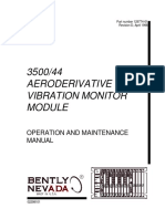 129774-01 Rev D 3500 44 Aeroderivative Gt Vibration Monitor Module Operation and Maintenance Manual