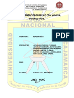 Informe Topografia Levantamiento Topográfico[1]
