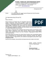 Penundaan Batas Akhir Unggah Laporan Kemajuan Dan Surat Pernyataan Tanggungjawab Belanja (SPTB)