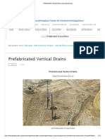 Prefabricated Vertical Drains Geoengineer