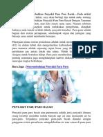 Tips Mudah Menyembuhkan Penyakit Paru Paru Dengan Obat Herbal