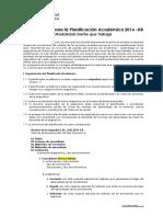 Lineamientos para la Planificación Académica 2016_GQT 1