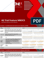 4G Trial Feature MBOCS Report