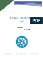 Python Lab1