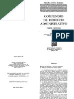 Compendio de Derecho Administrativo Acosta Romero_cap 1
