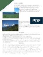 Cuáles Son Las Montañas Más Altas de Colombia
