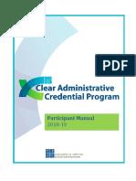 program orientation handouts