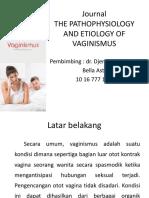 Journal Vaginismus