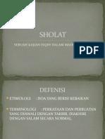 J X SHOLAT