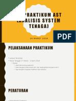 Tm Praktikum Ast (Analisis System Tenaga)