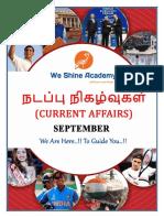 CURRENT AFFAIRS ENGLISH - 22.09.2018