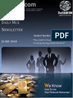 Daily Commodity Report  | The Equicom
