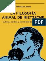 La filosofía animal de Nietzsche