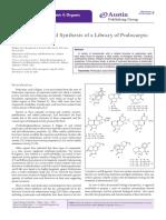 Austin Journal of Bioorganic & Organic Chemistry