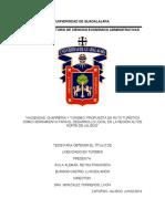 Haciendas Charreria y Turismo Propuesta
