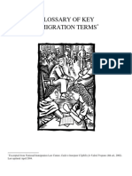 Immigration Glossary Terms