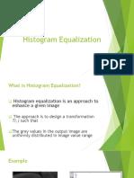 013 Histogram Equalization of Grayscale Image