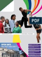 Undergraduate Prospectus 2011/12