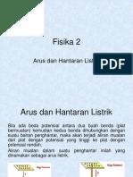 C.fisika2 ARUS & HANTARAN LISTRIK.ppt