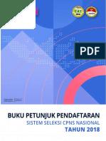 Buku Petunjuk Pendaftaran Sscn 2018 Signed