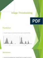 021 Image Thresholding Basic Concepts