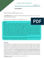 Experimental Sensor Characterization
