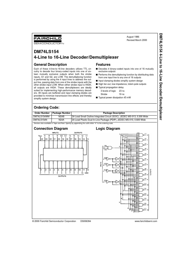 232348 Ds Electronic Engineering Electrical 4 To 16 Decoder Logic Diagram