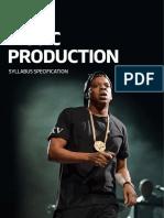 RSL Music Production Syllabus Guide Nov16